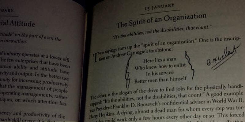 Favorite Peter Drucker Book