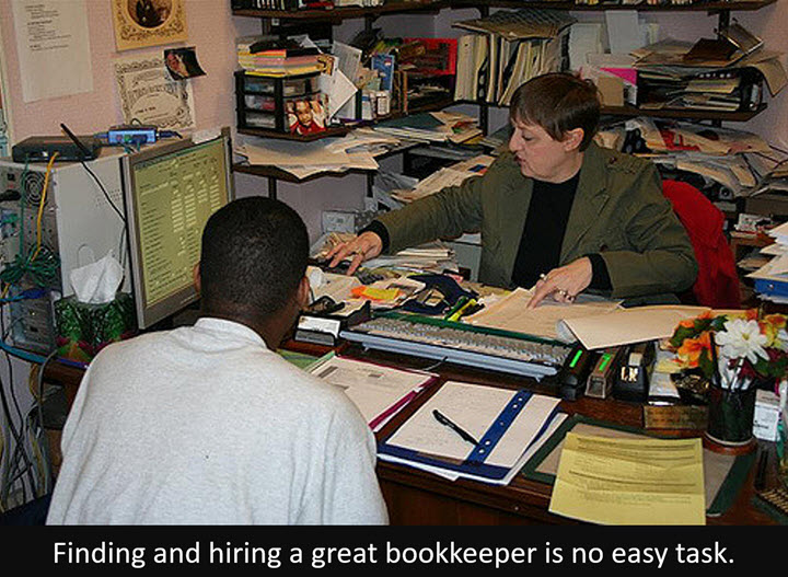Finding and Hiring a Great Bookkeeper