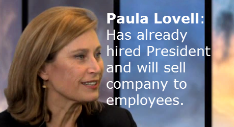 Paula Lovell Discusses her Exit