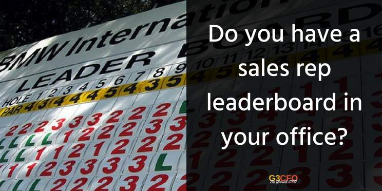 Do You Display a Sales Rep Leaderboard in Your Business?
