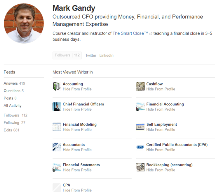 Mark Gandy on Quora