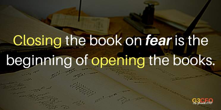 Remove Fear to Open the Books